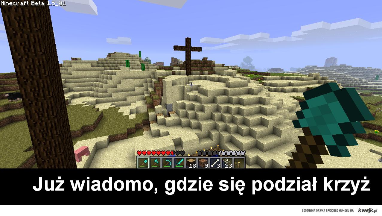 Już wiadomo, gdzie krzyż