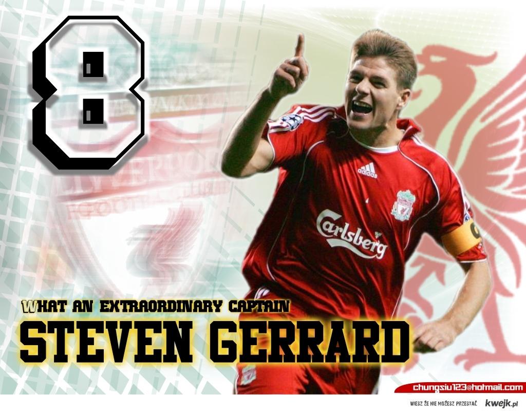 Steven Gerrard - Kapitan Liverpoolu