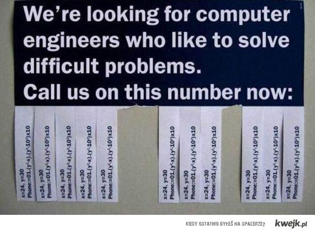 Praca dla inżyniera