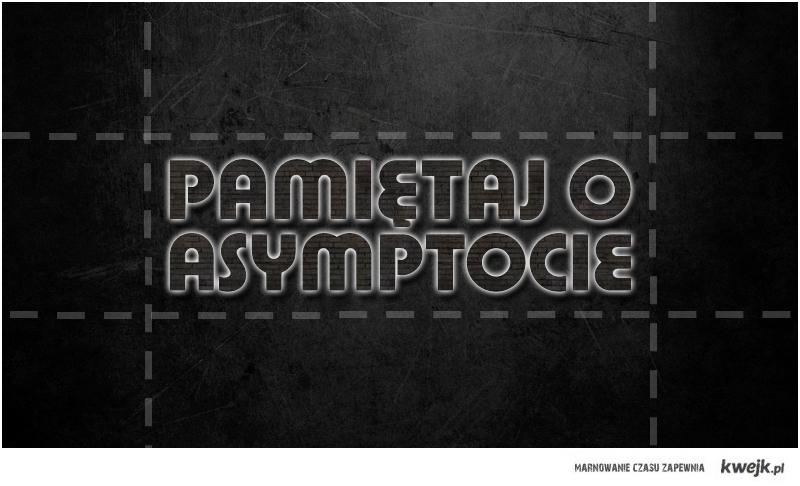 Grunt to asymptota.