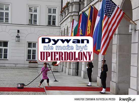 Dywan dla Obamy
