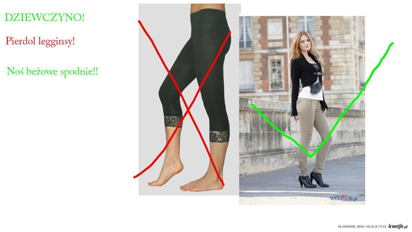 spodnie bezowe