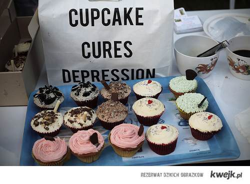 cupcakes cure depression