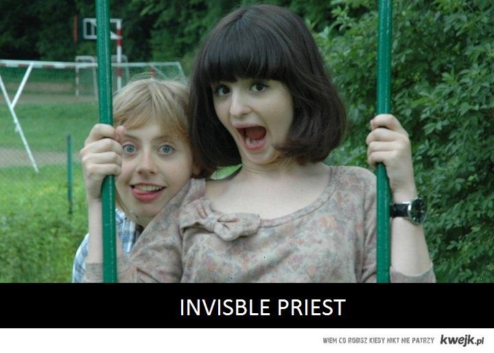 invisible priest