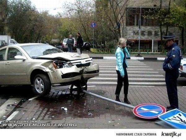 Jeśli prowadziła by siebie tak jak samochód - była by dziwką