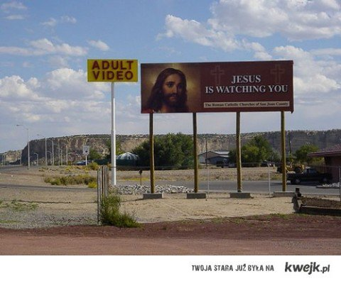 Jezus patrzy