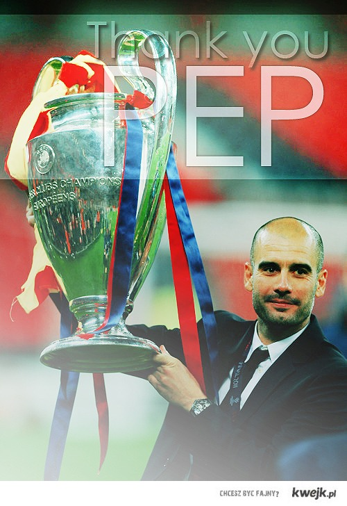 THANK YOU PEP