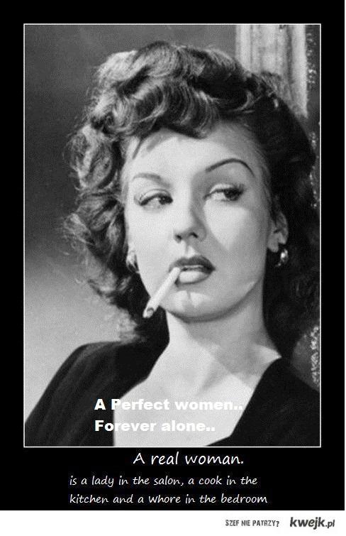 nie idealnych kobiet