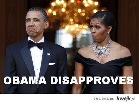 Obama dissaproves