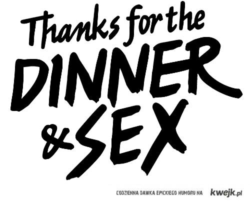 dinner&sex