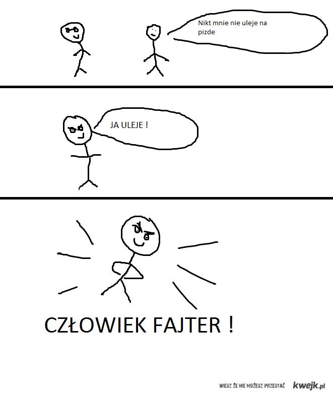 Człowiek Fajter