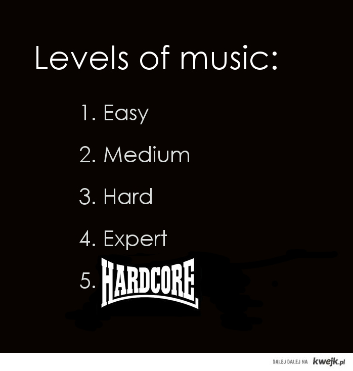 real levels of music