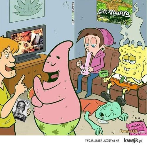 cartoons.