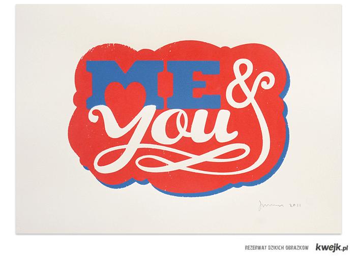 you + me = ♥