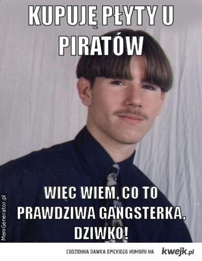 prawdziwa gangstertka