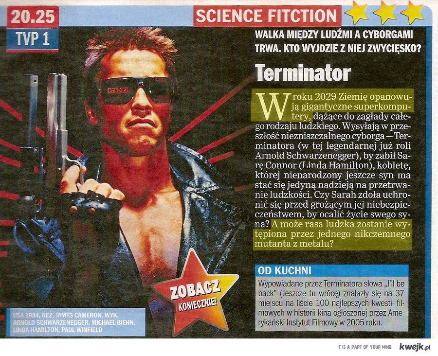 """Bardzo pomysłowe streszczenie pierwszego """"Terminatora"""""""
