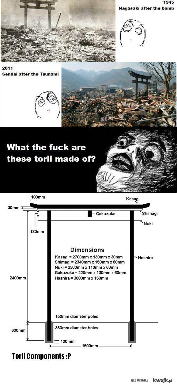 torii components