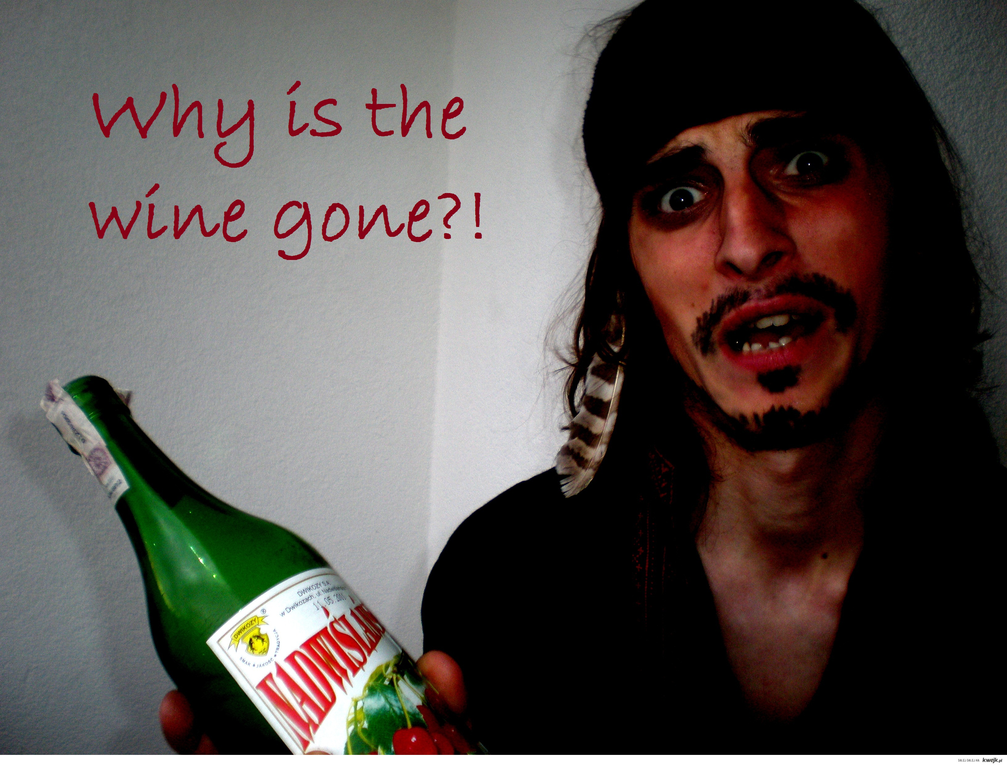 why is the wine gone?