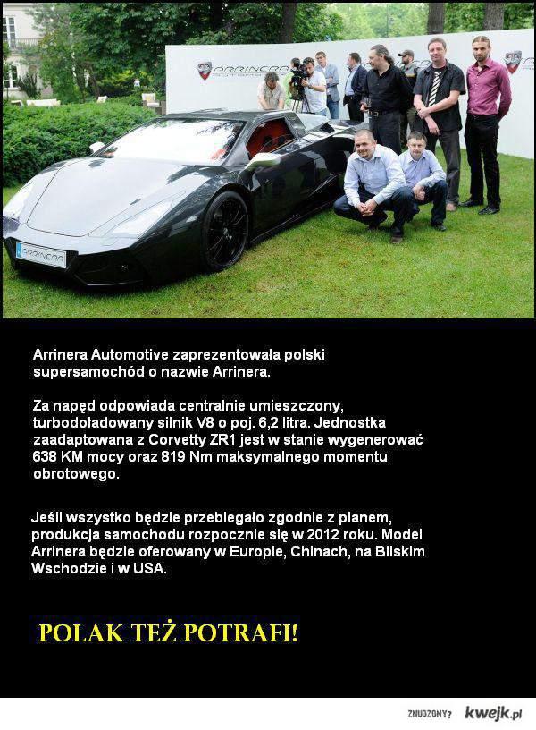 Polski supersamochód!