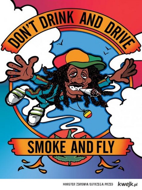 Dont drink and drive, just smoke and fly