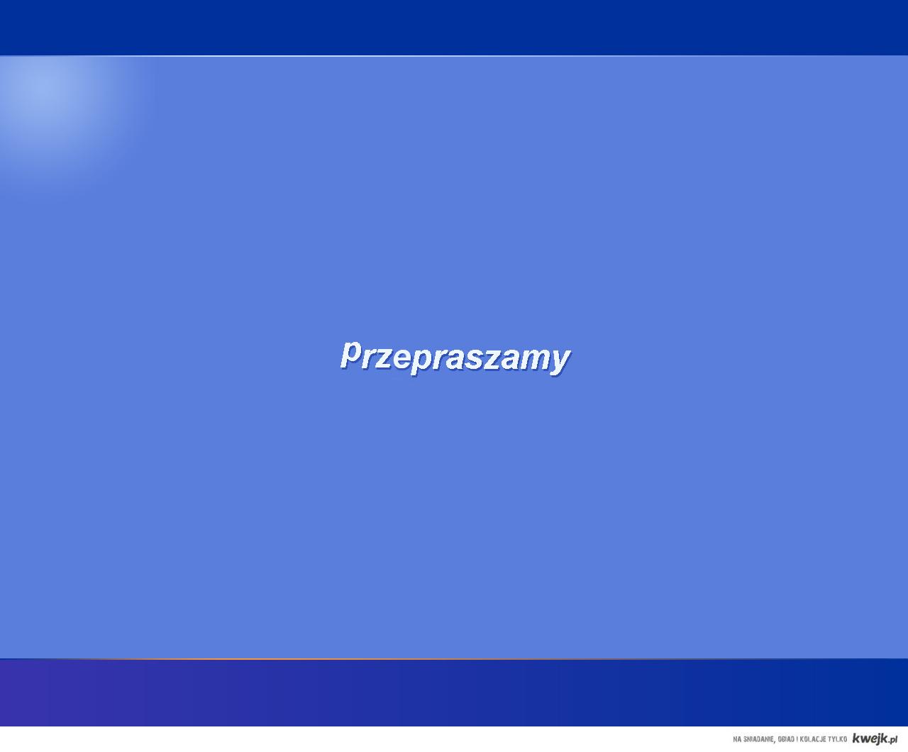Nowe przywitanie systemu Windows XP