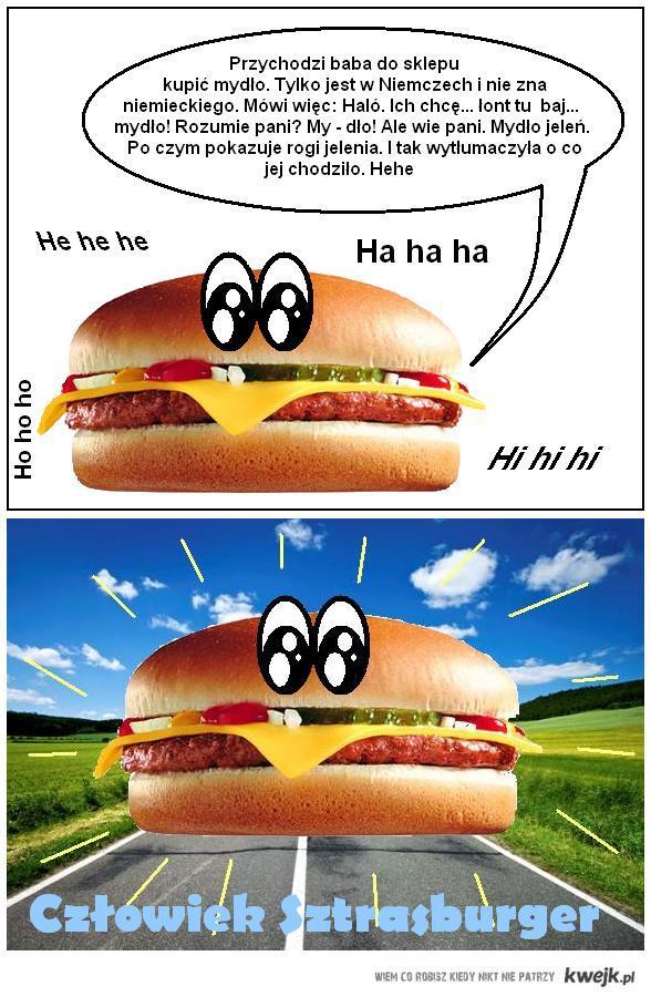 Czlowiek Sztrasburger 2 - mydlo