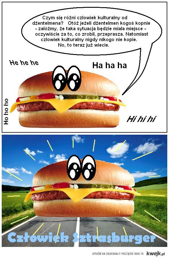 Czlowiek Sztrasburger 4 - dzentelmen