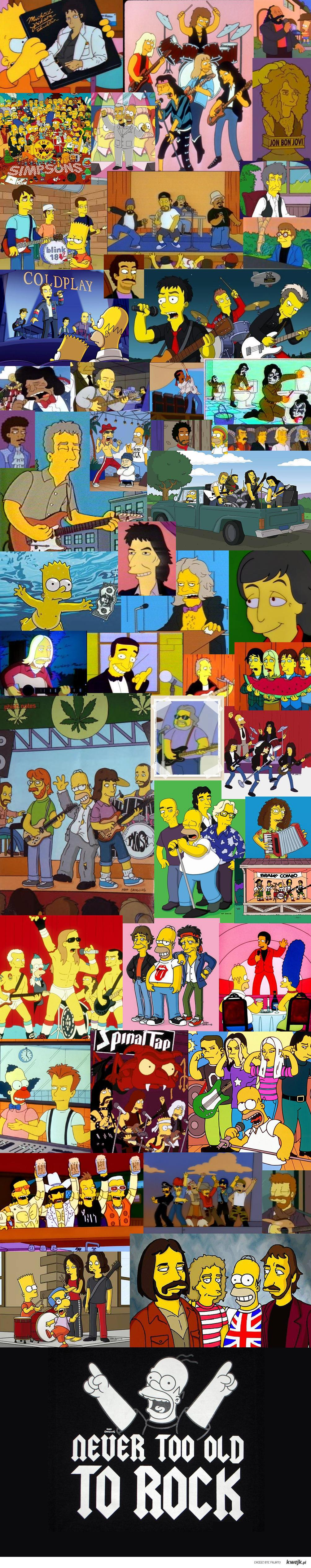 Simpsons rock