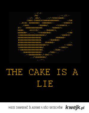 Portal cake is a lie