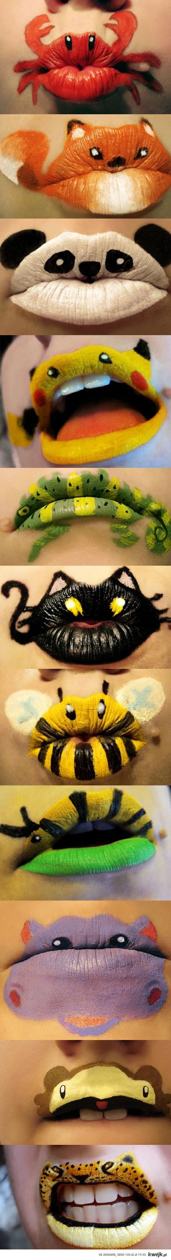 Nowa moda na malowanie ust
