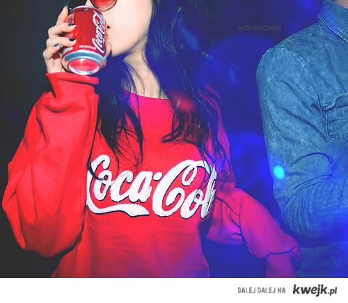 dziewczyna Cola