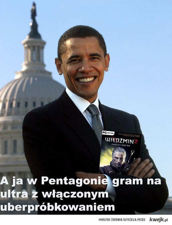 Obama już gra!