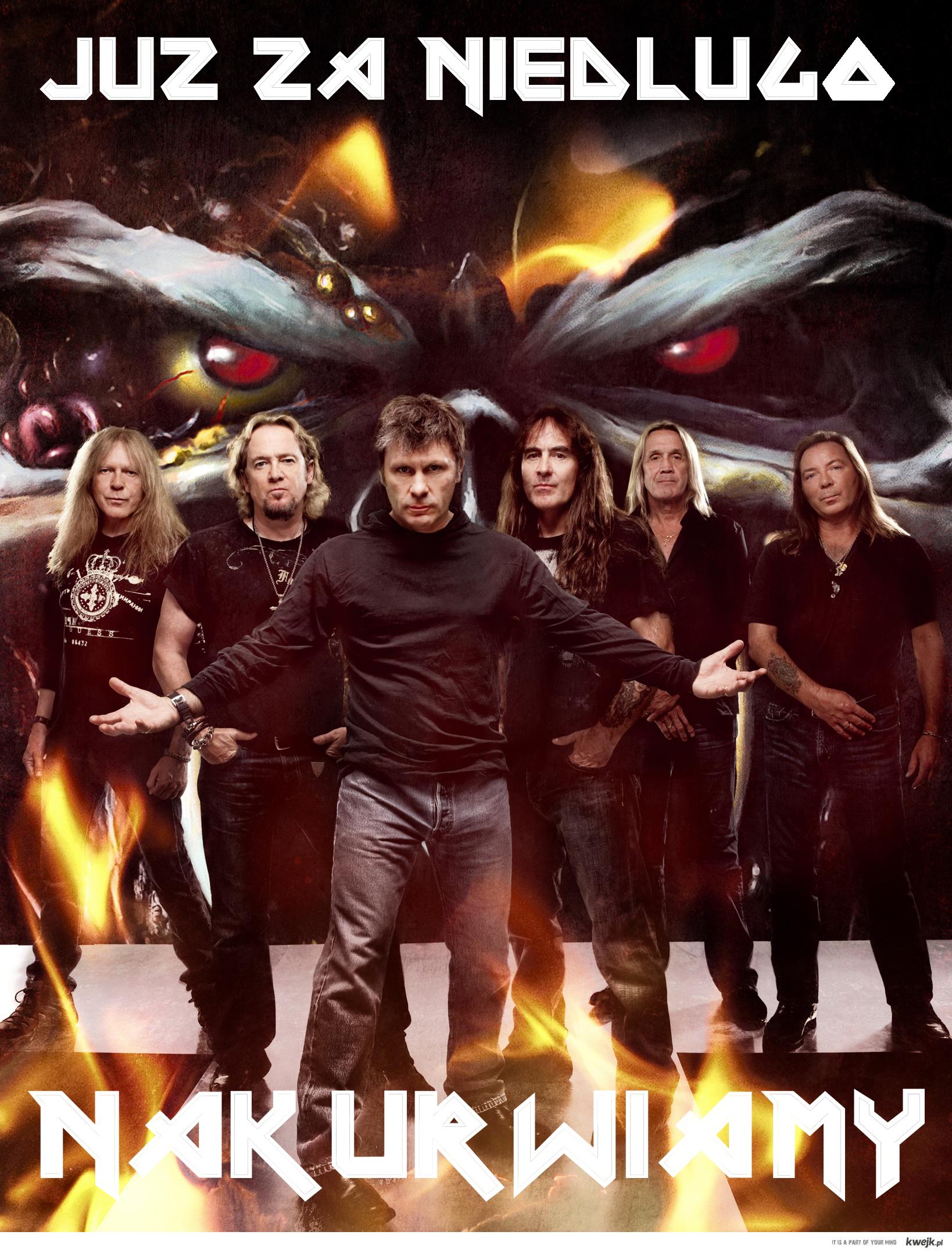 Iron Maiden w Polsce!