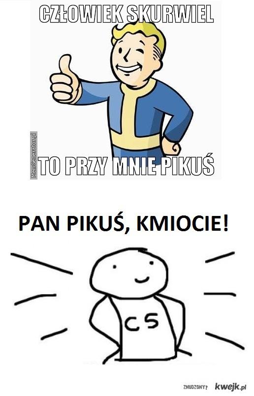 Pan Pikuś, KMIOCIE!