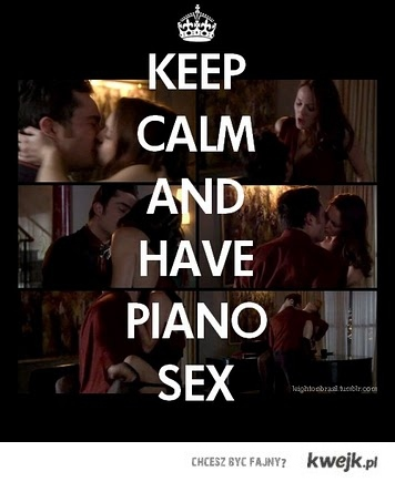 CHUCK & BLAIR piano sex