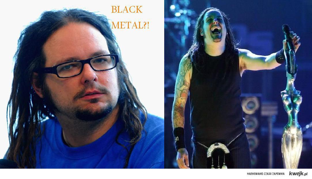 Davis o Black Metalu