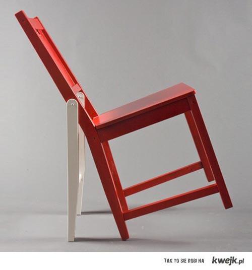 Bujanie sie na krzesle ?