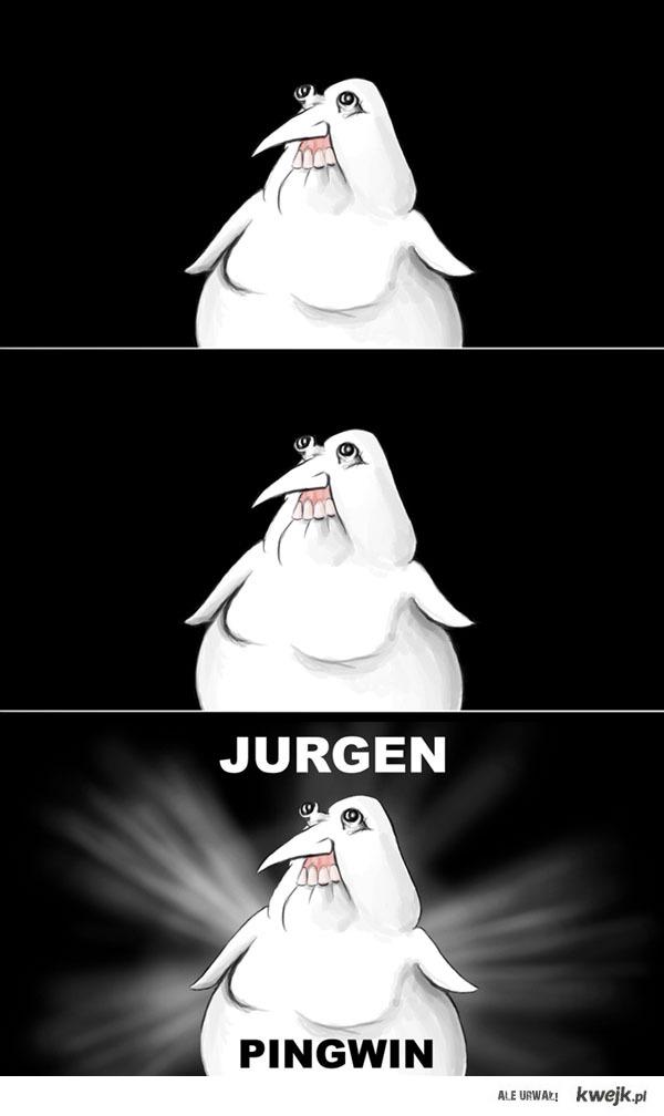 Jurgen pingwin introdukcja absurdalna