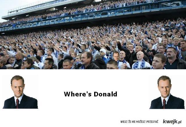 Where's Donald