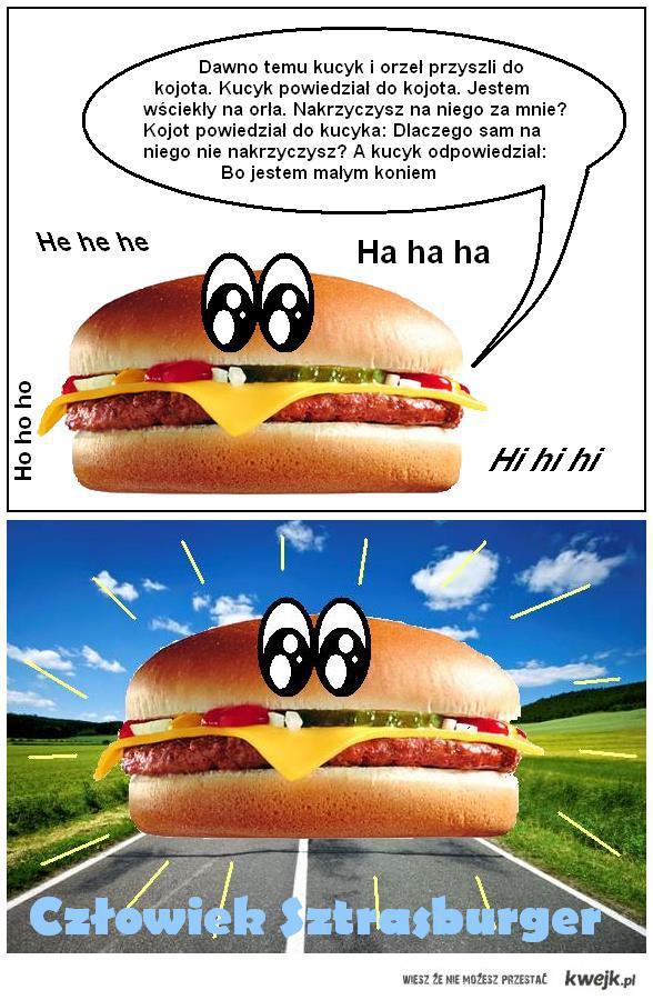 Czlowiek Sztrasburger 3 - kucyk