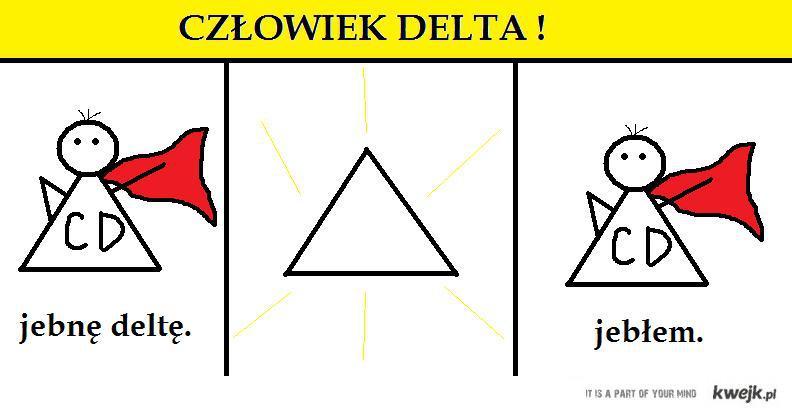 człowiek delta