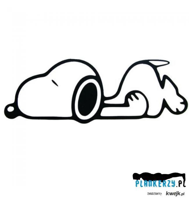 Snoopy plank