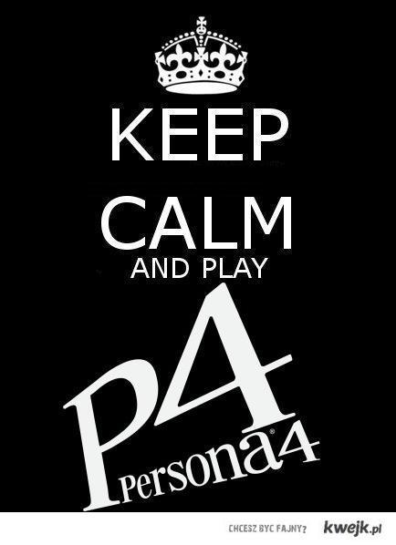 Persona keep calm