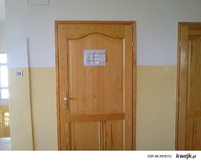 Łazienka zamknięta na wniosek Donalda Tuska