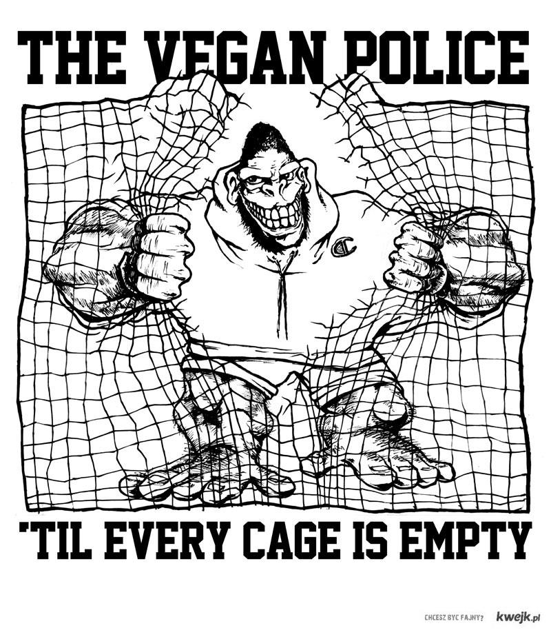 wegańska policja