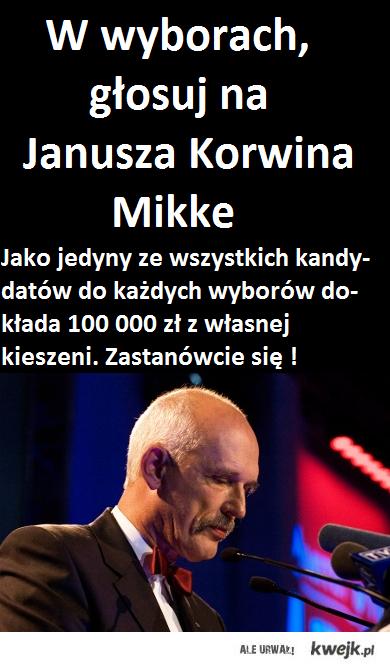 janu wybory 100000