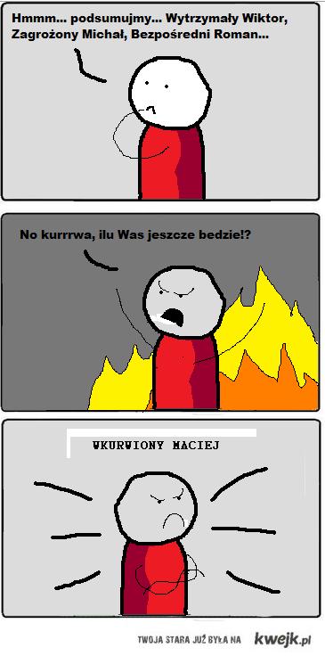 Wkurwiony Maciej