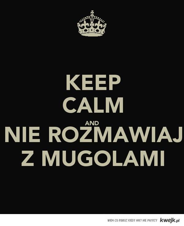 Nie rozmawiaj z Mugolami