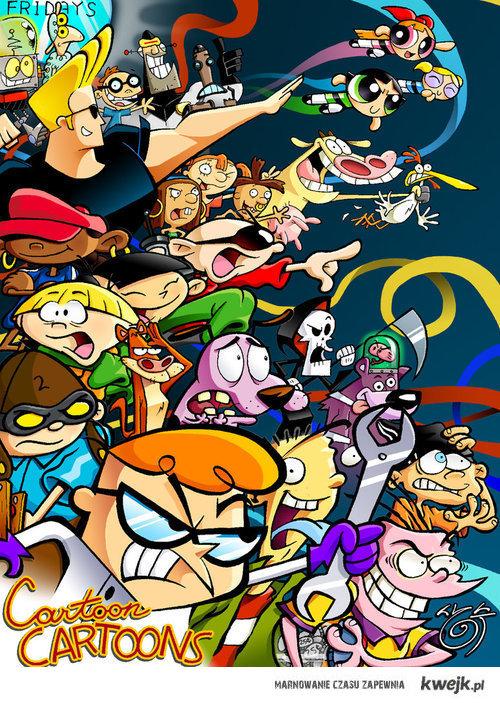 Cartoon heroes!