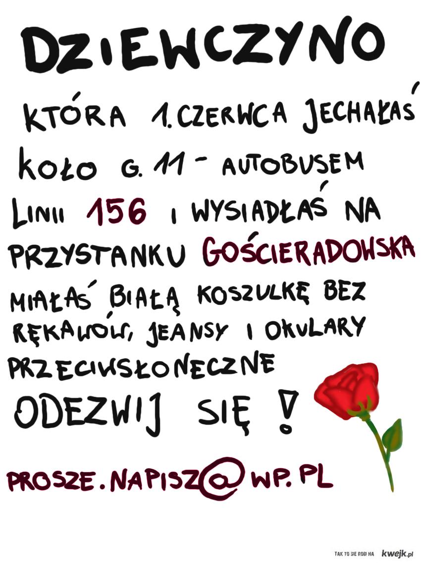 ODEZWIJ SIĘ, PROSZĘ! prosze.napisz@wp.pl